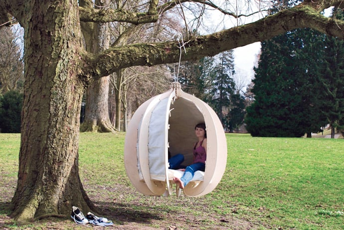 Perfect Cocoon For Your Garden