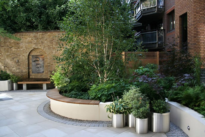 40 ideas of how to design a garden with clean lines and for How to design garden layout