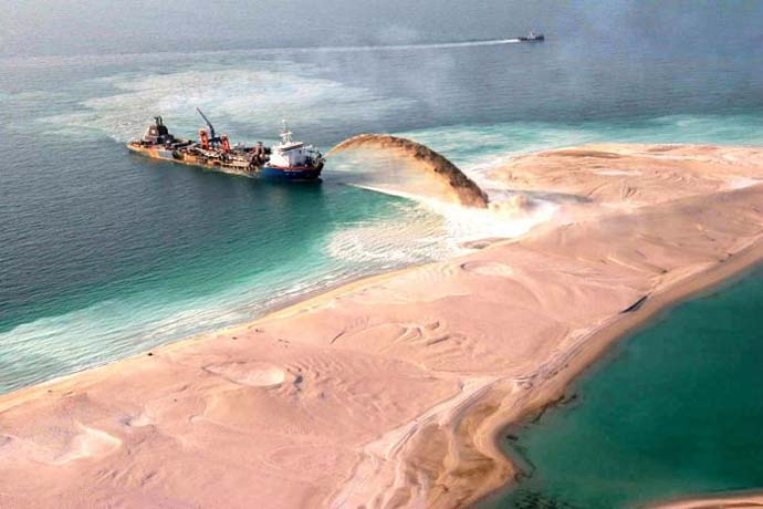 Palm Islands An Artificial Archipelago In Dubai