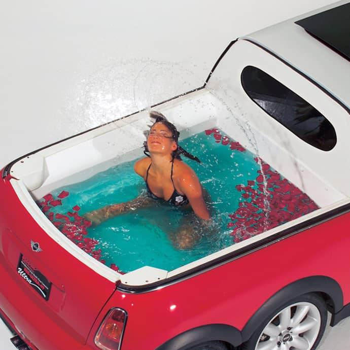 Mini Xxl A Cool Fusion Of A Mobile Mini Pool And A Limousine