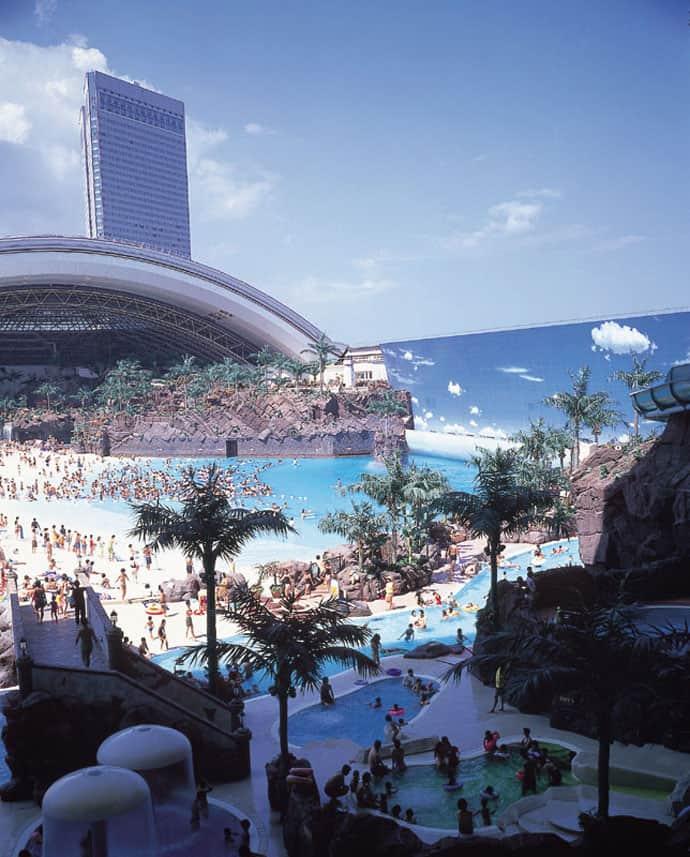 Seagaia Ocean Dome Japan S Indoor Man Made Beach