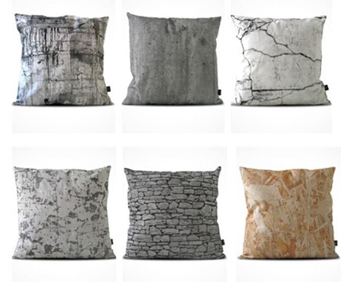 Industrial Deco Design Hard Pattern Soft Pillows