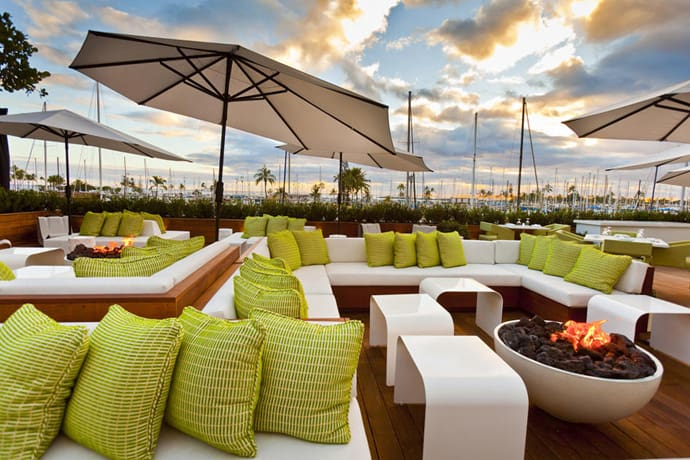 Morimoto waikiki restaurant a zen garden in california by