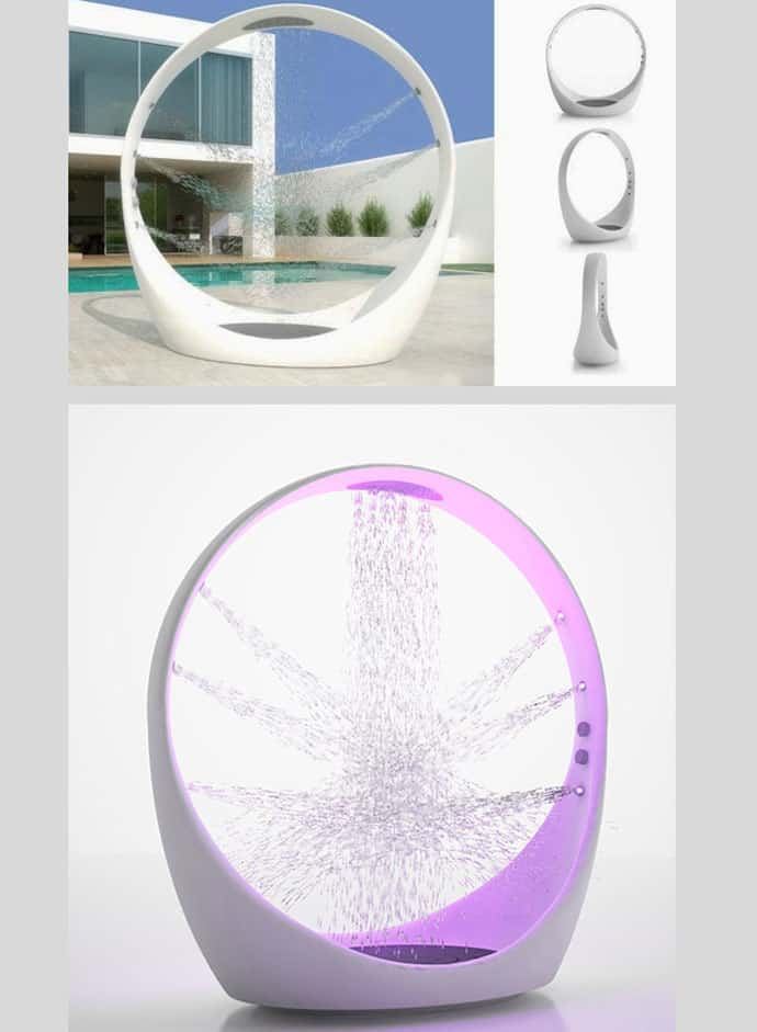 Multi Sensory Water Experience Outdoor Shower System Loop