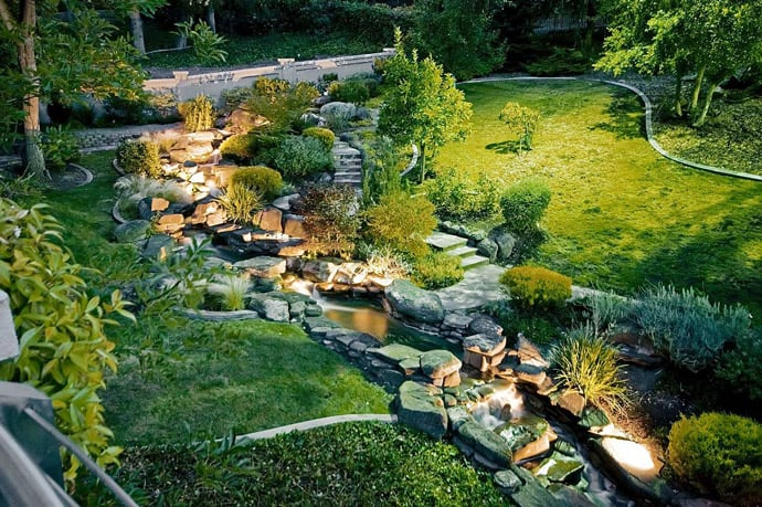 Build A Beautiful Waterfall For Your Garden