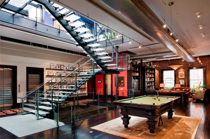 30 million luxury loft apartment in tribeca new york city for Tribeca homes for sale