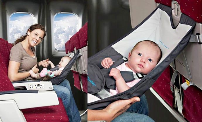 Flyebaby Airplane Baby Seat : FlyeBaby Hammock cover from www.designrulz.com size 690 x 418 jpeg 49kB