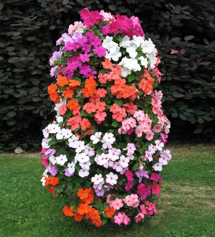 Flower Tower, Flower Power- Great Vertical Planter