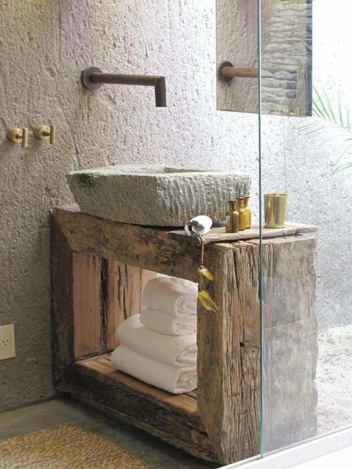 10 lovely bathroom with some rustic decor inspiration for Decor inspiration