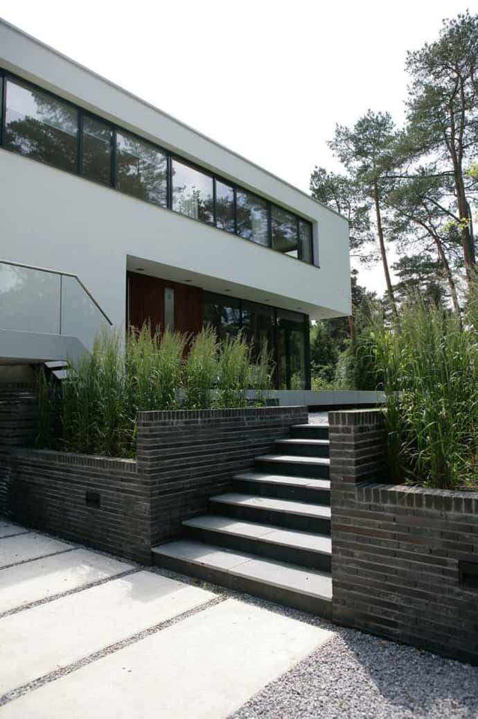 Contemporary Modern Residence House In Bosch En Duin By Maas - House-in-bosch-en-duin-by-maas-architects