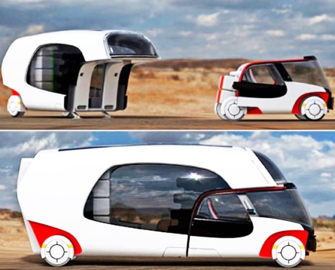 Colim Caravan with 2 Detachable Parts Car and Mobile Home : colim dr from www.designrulz.com size 690 x 558 jpeg 35kB