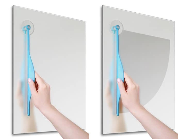 The Bathroom Mirror Windshield Wiper By Dewa Bleisinger