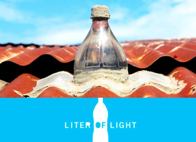 A Liter Of Light Or How To Build A Solar Bottle Bulb Video