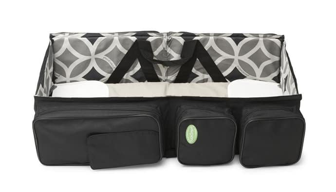 Baby Travel A Bag That Turns Into A Baby Couch