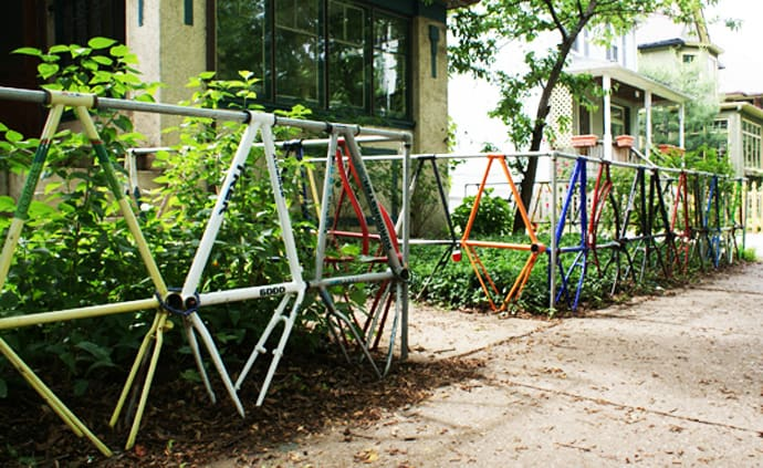 25 Ideas Of How To Recycle Old Bicycles Wisely Designrulz