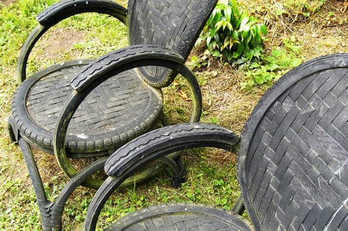 25 ideas of how to recycle old bicycles wisely designrulz Things to make out of old tires