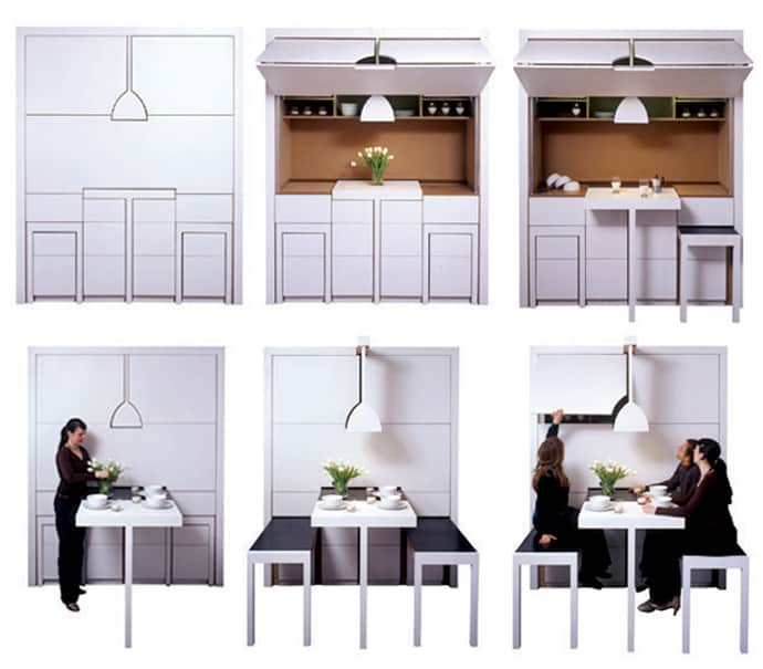 All In One For 4 Sqm Kitchen Dining And Living Room