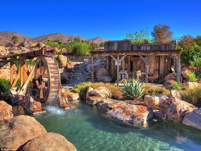 Water Park Mansion In Boulder City Nevada USA
