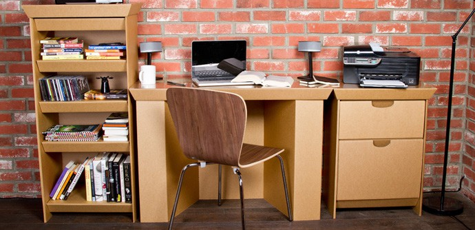 Cheap Cardboard Furniture For Your Temporary Needs by SmartDeco