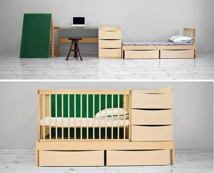 Multi Functional Furniture That Can Be Used From Newborn