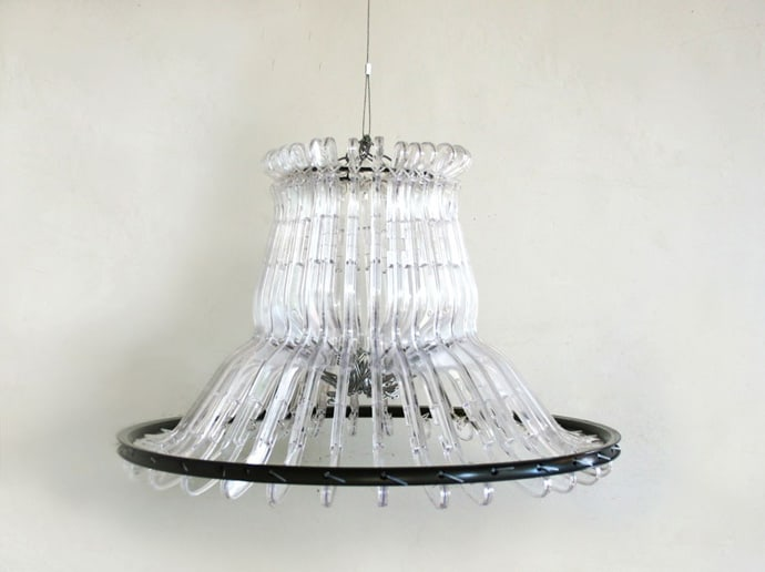 Lamp with Clothes Hooks