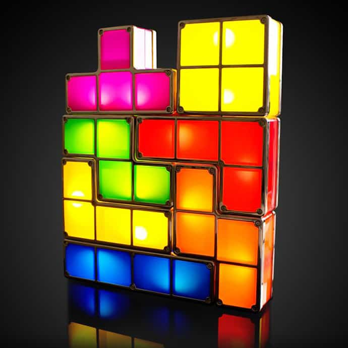 Combine Your Lamps Into Any Tetris Like Structure