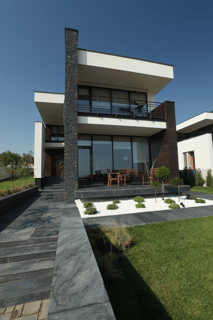 Luxurious contemporary houses in romania europe for New style house