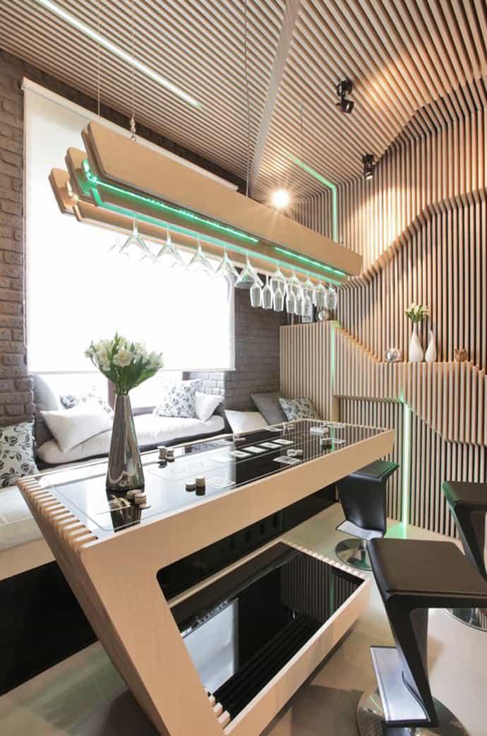 Ultra Modern Parametrix Kitchen By Geometrix Design