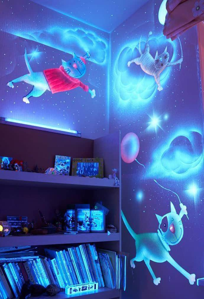 Neon Room Ideas Bedrooms