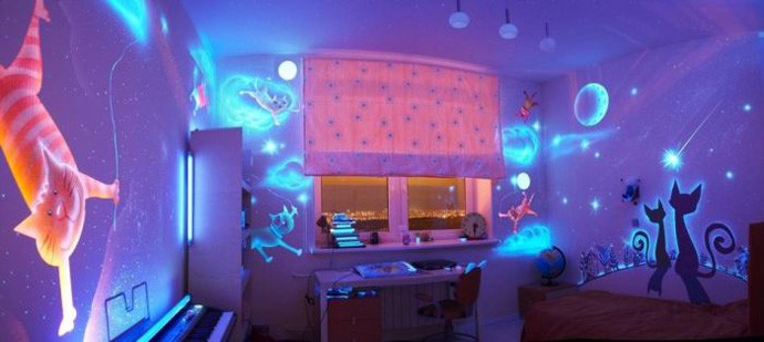 Comments. Glow in the Dark Bedroom Decoration