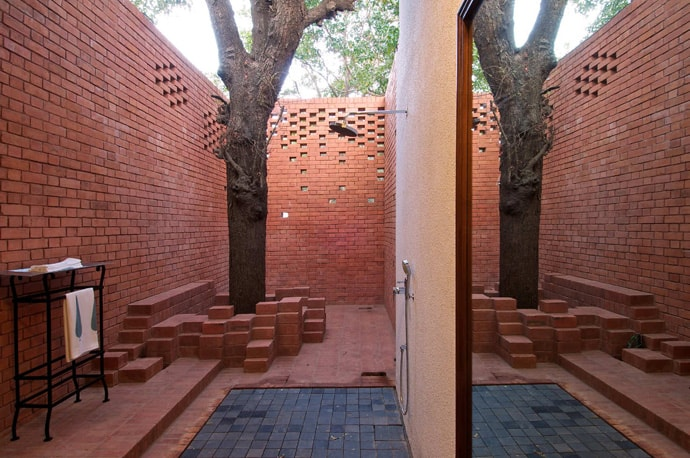 The Brick Kiln House By SPASM Design Architects India