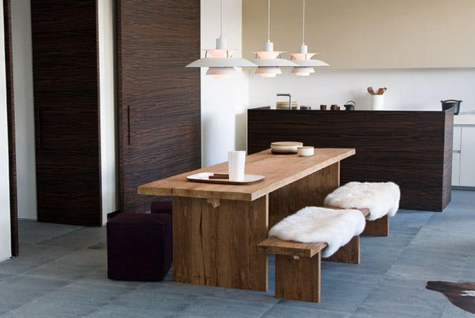 45 dining tables in a wide variety of materials shapes - Comedores contemporaneos ...