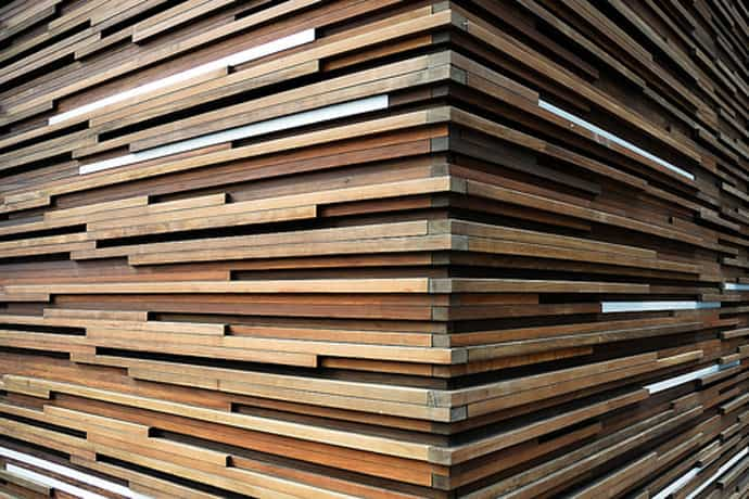 Top 35 striking wooden walls covering ideas that warm home instantly - Artistic wood clad design for warm essence in your house ...