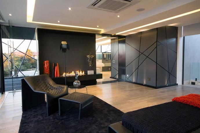House Ber A Modern Luxury Residence In Midrand South Africa - Ber house in south africa