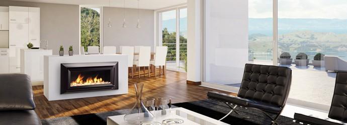 30 modern gas fireplaces ideas from escea - Chimeneas minimalistas ...