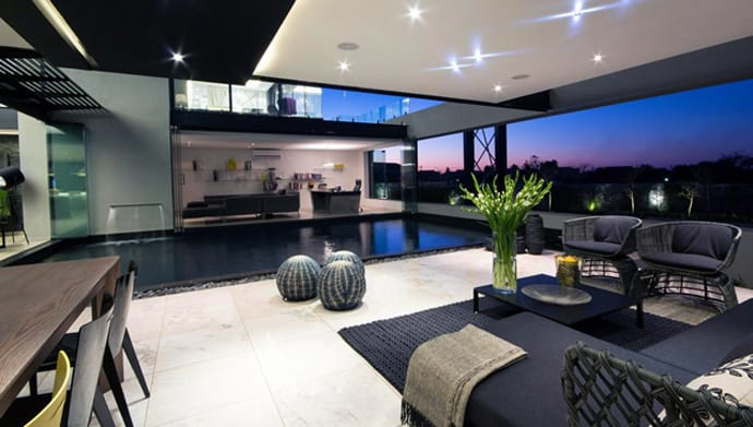 House Ber A Modern Luxury Residence In Midrand South Africa