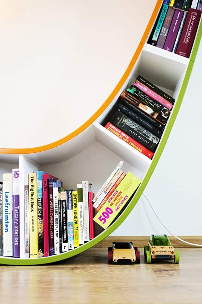 Bookworm Bookcase Sit And Relax Surrounded By Your Favorite Books - Bookworm bookcase sit and relax surrounding by your favorite books by atelier 010