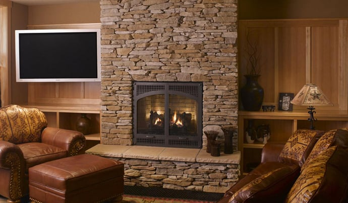 25 stone fireplace ideas for a cozy nature inspired home - Beautiful corner fireplace design ideas for your family time ...