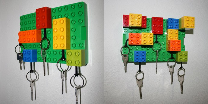 Legos Key Hanger And No More Quot Where The Hell Are My Keys