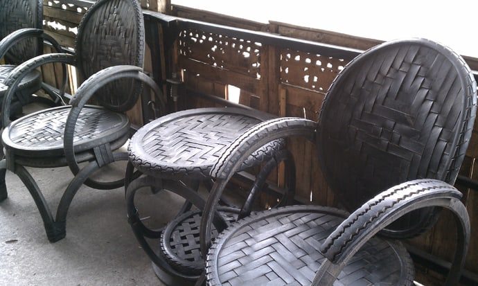 Uses For Old Car Tyres