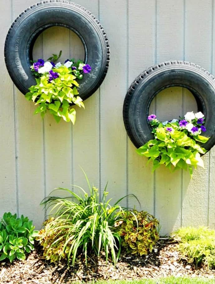 use - Garden Ideas Using Tyres