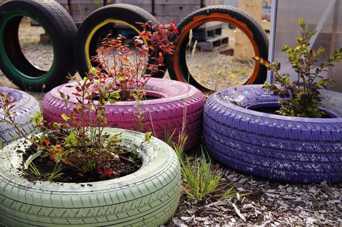 color - Garden Ideas Using Tyres