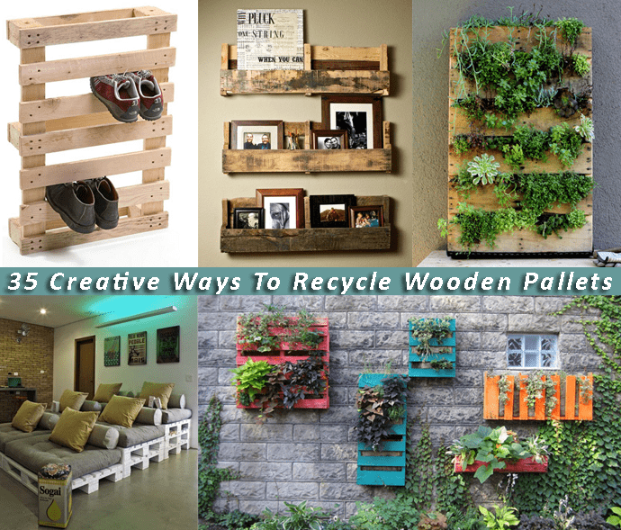Creative recycling wooden pallets ideas to do right now in for Making things with wooden pallets