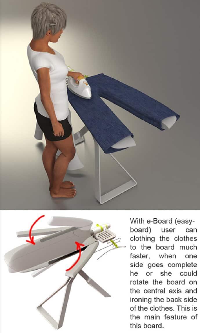 Finally, an ironing board that makes sense-designrulz (2)