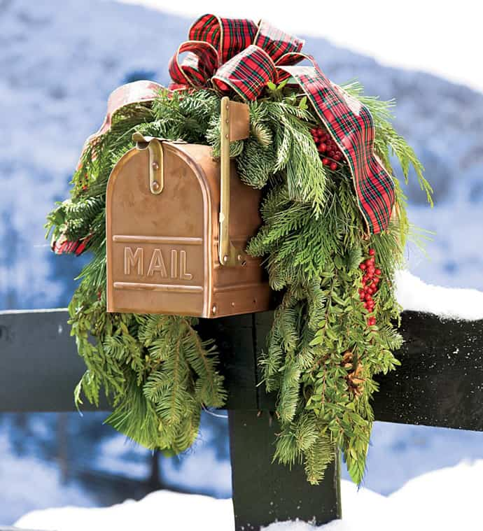 holiday mailbox christmas 003 - Christmas Mailbox Decorations Ideas