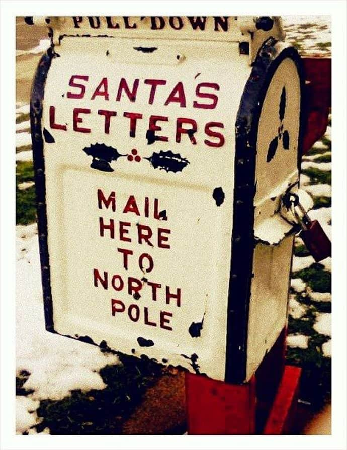letters to santa mailbox 30 ideas to dress up your mailbox in a tale look for 23421