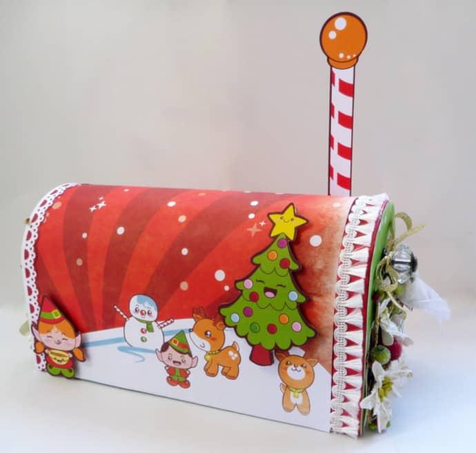 Holiday Mailbox CHRISTMAS-023