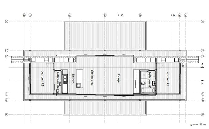 Elevation Designs For Ground Floor Building : Modern steel framed home in johannesburg south africa