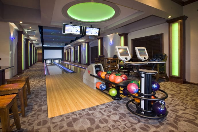 30 suggestions for home installed bowling alley lanes for House plans with bowling alley