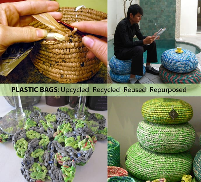 25 Ideas Of How To Recycle Plastic Bags On America